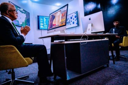 Prof. Osinbajo Participates in a Google Hangout Organized to Deliver Relevant, Real-time, Cutting Edge Public Health Responses