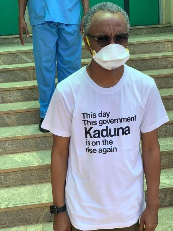 Kaduna State Governor,  El-Rufai's Statement on Recovery from COVID-19