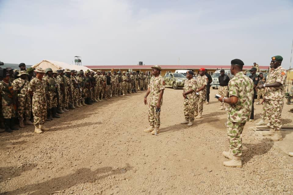 Army Chief, Lt. Gen. Buratai Moves to Northeast