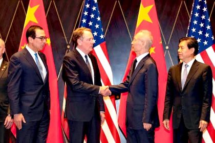 Negotiators Vow to Implement Phase one in U.S.-China Trade Deal