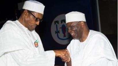 Buhari presides over virtual FEC meeting, 'unveils' Gambari as new Chief of Staff
