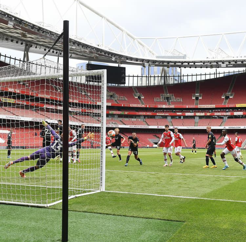 Arsenal Hosted Charlton Athletic, Wins 6-0