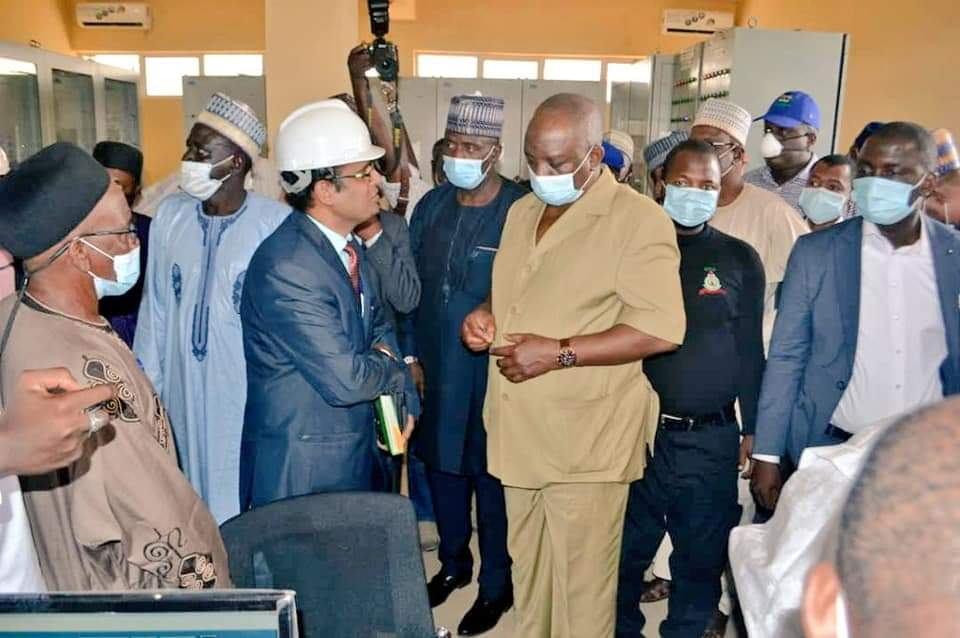 Engr. Mamman, Minister of Power Directs Power Contractors to Resume Work, Visits New Gagarawa Substation