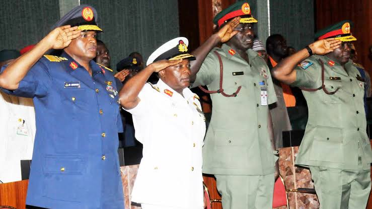Presidency's Position on Resolution by Senate on Service Chiefs