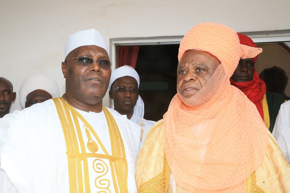 Buhari Condoles with Lamido of Adamawa, Atiku Over Passing of Khadija Musdafa