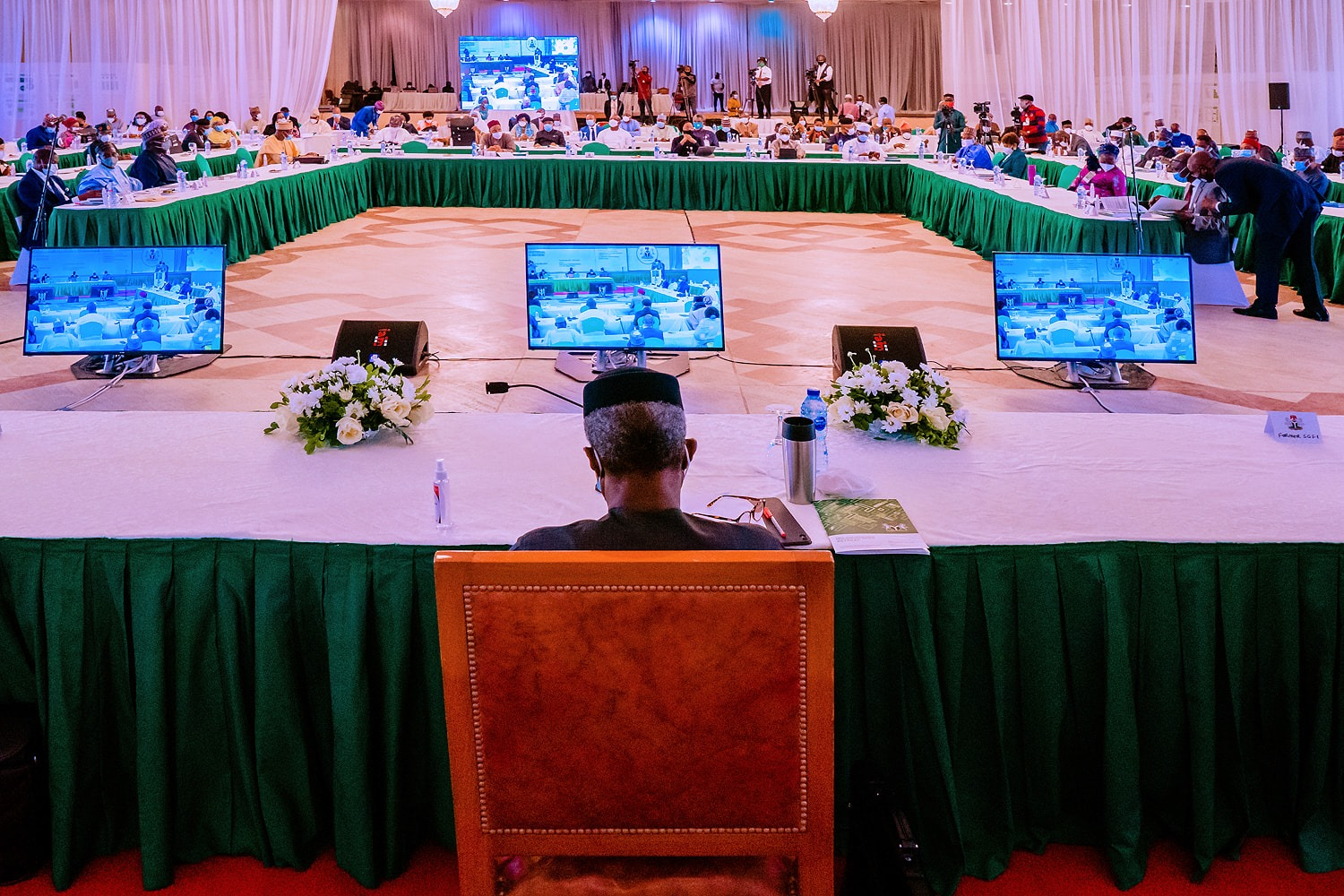 President Muhammadu Buhari's Address At The First Year Ministerial Performance Review Retreat