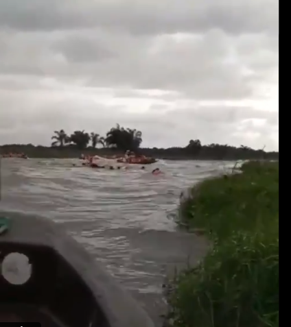 Update; INEC Staff Rescued After Boat Capsized in Ilaje