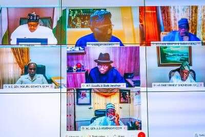 How EndSARS Protest was Hijacked, Misdirected, President Buhari Tells Former Heads of State