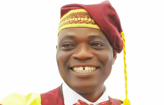 Ogundipe, Reinstated as UNILAG VC, Addresses Cheerful Crowd