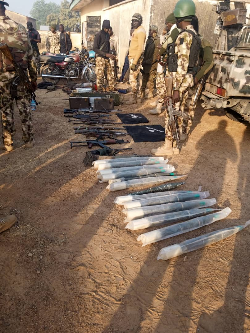 Troops Dealt Decisive Blow on Boko Haram in Asikra Uba