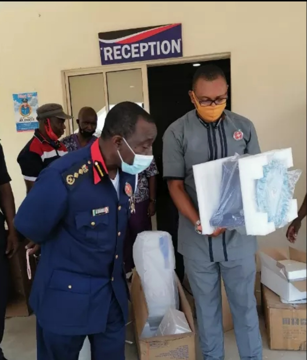Civil Defence Receives COVID-19 Testing Equipment