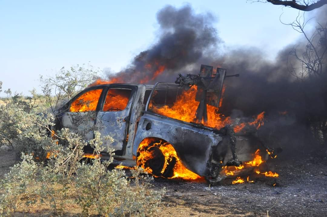Update On Repelled Boko Haram Attack on Gujba, Yobe State