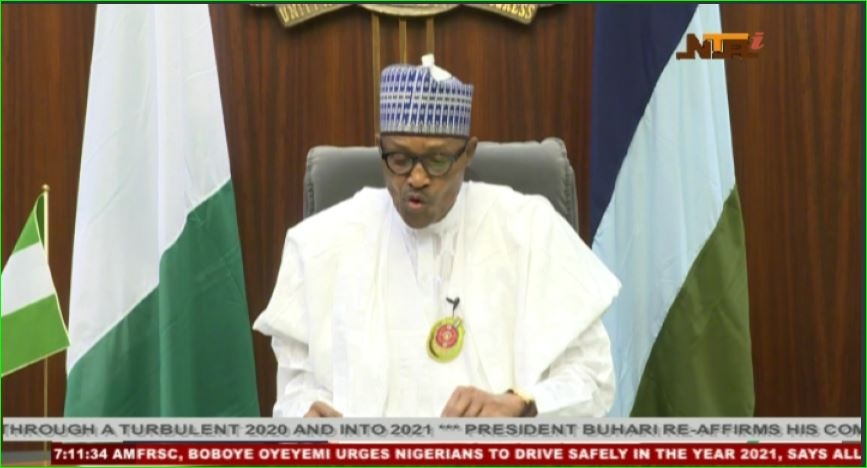 New Year Speech By His Execellency, Muhammaduri Buhari, President Of The Federal Republic Of Nigeria