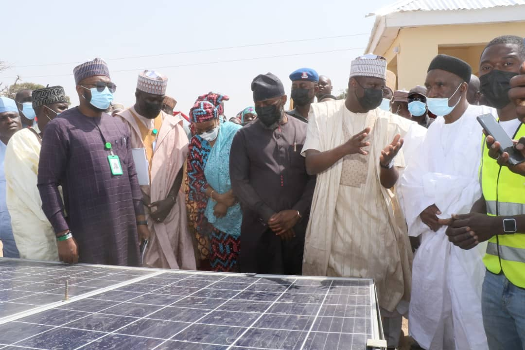 FG Commissions a 30kWp solar hybrid mini-grid project  in Mayo Belwa LGA, Adamawa State