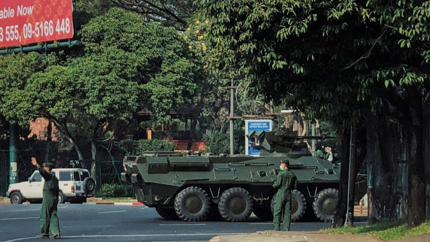 Army Takes Over in Myanmar