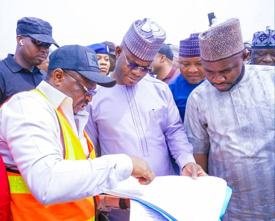 Ganaja Junction Flyover; Gov. Bello wants work completed in record time