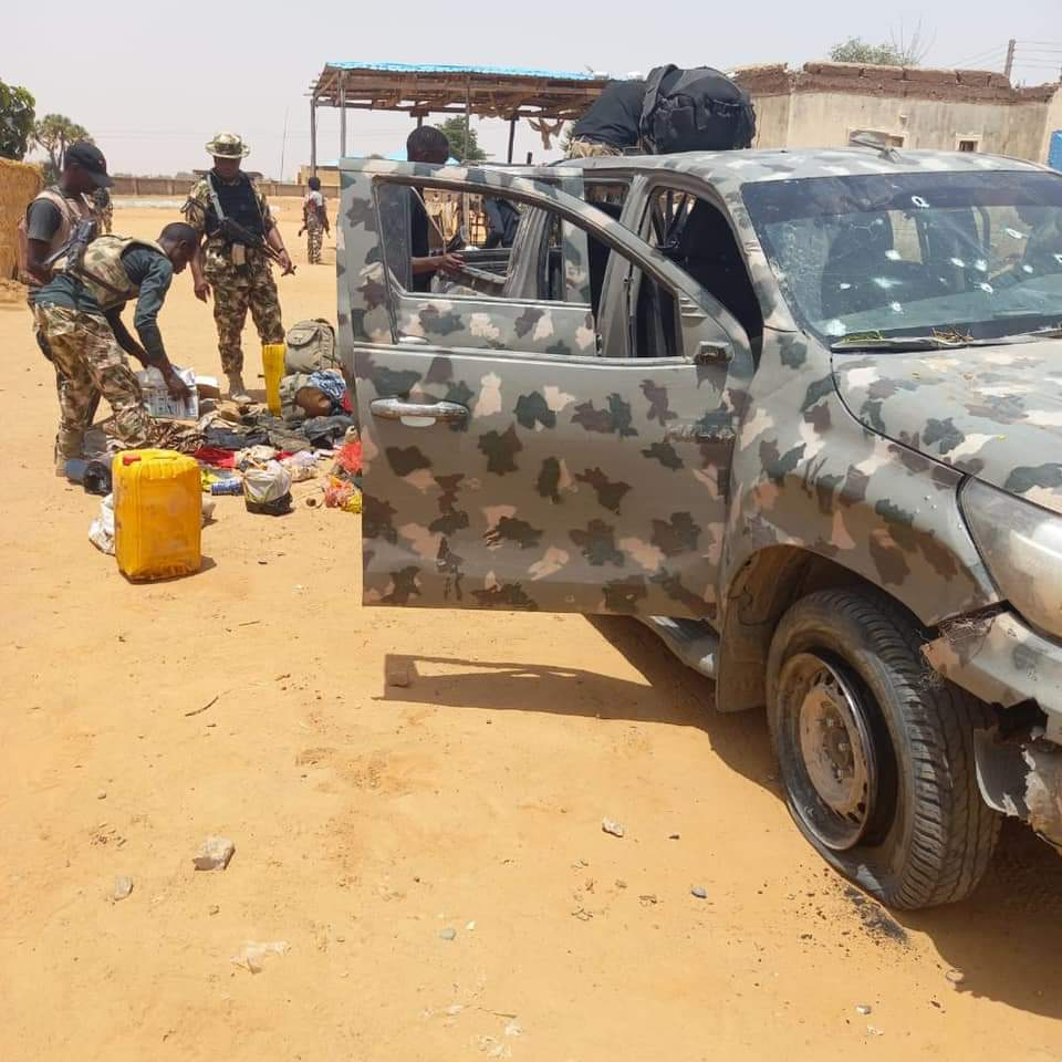 Troops Infected Heavy Casualty on Boko Haram in Geidam