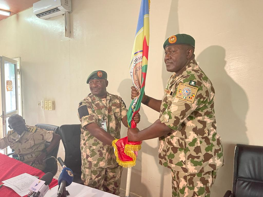 Maj. Gen. Khalifa Takes Over at Multi-National Joint Task Force