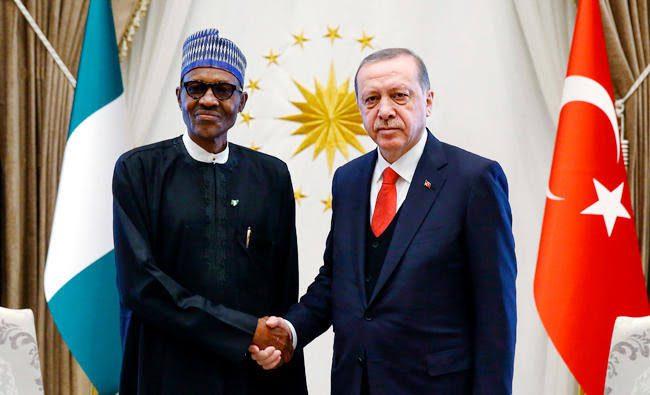 President Buhari Calls Erdogan Over Devastating Fire